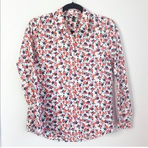 United Colors of Bennenton Floral Shirt XS